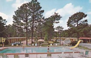 Swimming Pool,  Perry Motor Inn,  on Hwy U.S. 27,  Perry,  Florida,  40-60s