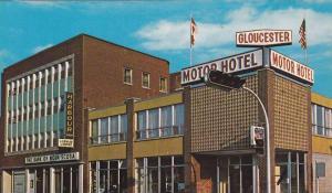 Gloucester Motor Hotel , BATHURST , New Brunswick , Canada , 50-60s