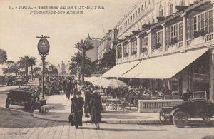 NICE , France, 1900-10s ; Terrasse du SAVOY-HOTEL