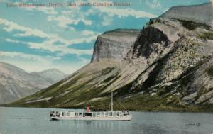 BANFF , Alberta , Canada , 1900-10s ; Lake Minnewonka , Steamer
