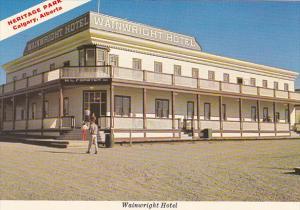 Canada Wainwrigth Hotel Heritage Park Calgary Alberta