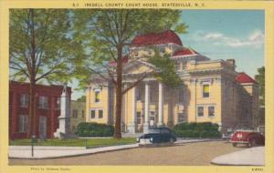 North Carolina Statesville Iredell County Court House
