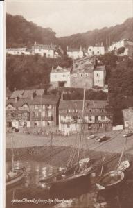 RP: Clovelly , England , 00-10s ; View from the harbour