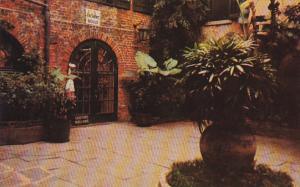 Louisiana New Orleans Brulator Courtyard 520 Royal Street