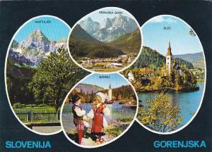 Yugoslavia Slovenija Gorenjska Multi View