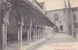 France Toulouse Cloitre des Jacobins Vue Exterieure