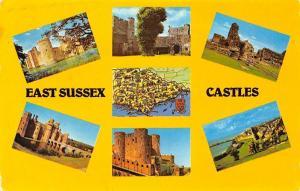 East Sussex Castles, Bodiam, Lewes, Pevensey, Hurstmonceux Hastings