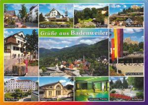 Greetings Gruesse Aus Badenweiler Multi View