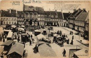 CPA Guines (P.-de-C.) - Grand'Place (976663)