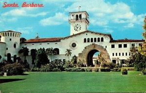 California Santa Barbara County Court House 1983