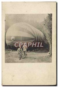 PHOTO CARD Aviation Zeppelin Airship