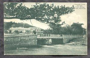 dc878 - FLATTS VILLAGE Bermuda c1905-10 Frascatti Hotel & Bridge Postcard
