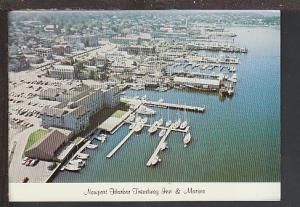Treadway Inn and Marina Newport RI Postcard BIN