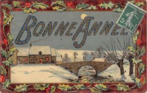 C0368 Bonne Anne new year france