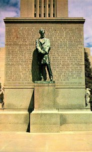 Illinois Springfield Lincoln Statue