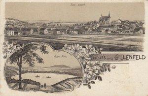 Gruss aus GILLENFELD, Rhineland-Palatinate , Germany , 1900-10s