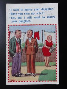 Perly : BD PC  I WANT TO MARRY Votre Fille ? ihave You Seen The Wife ? C1929
