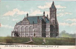 New York Syracuse John Crouse College Of Fine Arts Syracuse University