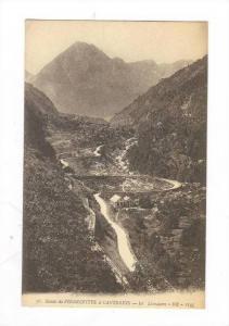Route de Pierrefitte a Cauterets, Le Limacon, Cauterets (Hautes-Pyrénées), ...