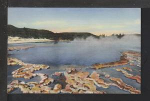 Sapphire Pool,Biscuit Basin,Yellowstone National Postcard