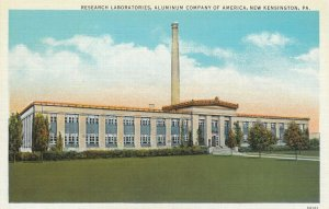 NEW KENSINGTON , Pennsylvania, 1910-30s ; Aluminum Company Lab