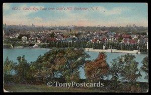 Bird's Eye View from Cobb's Hill, Rochester