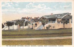 Clearwater-Bellair Heights Florida~Belleview Cottages~Postcard c1915