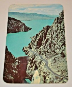 1954 Yellowstone Park Buffalo Bill Dam Shoshone Canon Reservoir Cody Wyoming USA