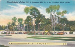 Florida Daytona Candlelight Lodge 1955