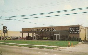 WARRENSVILLE HTS , Ohio, 1960s ; VW Car Dealership