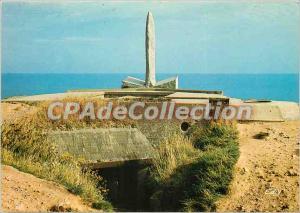 Postcard Modern Cricqueville en Bessin (Calvados) Pointe du Hoc