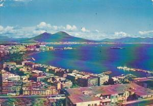Italy Napoli Panorama 1966