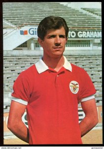 p95 - NENE Postcard 1970s Benfica Lisboa Soccer Player. Football Futbol Fussball