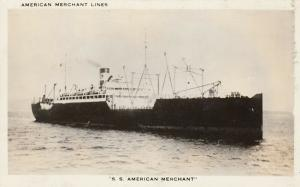 RP: American Merchant Lines, 20-40s; S.S. American Merchant