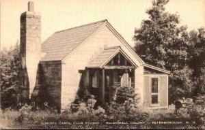 New Hampshire Peterborough MacDowell Colony Sorosis carol Club Studio