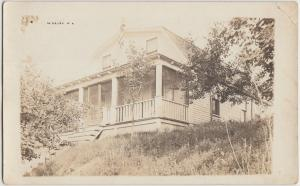 Wisconsin Wi Real Photo RPPC Postcard 1920 OKAUCHEE Marvell CC Country Club?