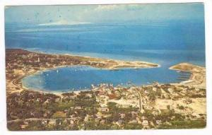 Ocracoke Village and Harbor, Ocracoke Island, North Carolina, 40-60s