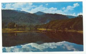 A lovely view of Taiping Lake and park, Taiping, Perak, Malaysia, 40-60s