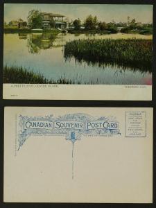 A Pretty Spot Centre Island warwick circa 1905