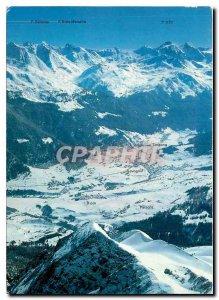 Postcard Modern Cunter Savognin Riom Parsonz Tinizong
