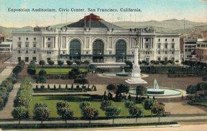 USA Exposition Auditorium Civic Center San Francisco California 04.23