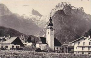 Austria Motif aus Lofer mit den Loferer Steinbergen Salzburg Real Photo
