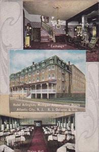 New Jersey Atlantic City Exchange Hotel Arlington Michigan Avenue Near Beach ...