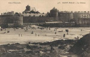 France Cote d'Emeraude Saint Malo Le Chateau 01.91