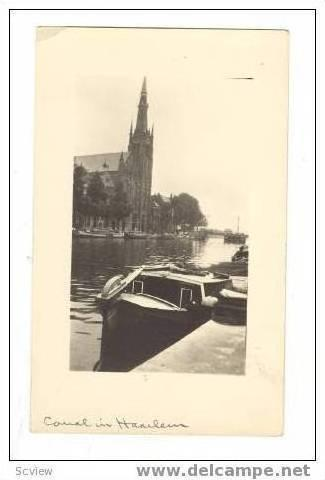 Canal in HaarlamNetherlands,00-10s, 1/2