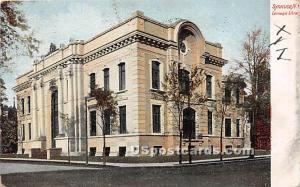 Carnegie Library Syracuse NY 1908