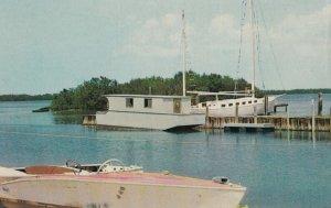 SANIBEL ISLAND , Florida , 1950-60s ; Red Pelican Marina