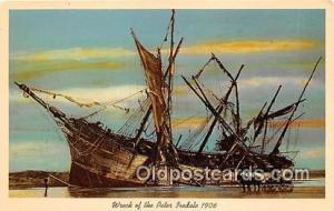 Wreck of the Peter Iredale 1906 Oregon Ship Postcard Post Card Oregon Postcar...