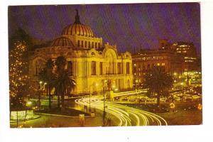 Palace of Fine Arts, Night View, Mexico