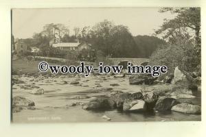 tp0236 - Devon - Babbling Brook & Bridge of Dartmeet Village  - Postcard Chapman